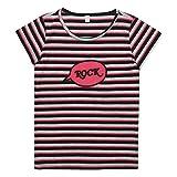 ESPRIT KIDS Mädchen T-Shirt RJ10105, Mehrfarbig (Dark Grey 280), 152 (Herstellergröße: M)