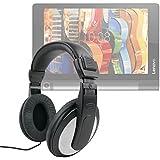 """Casque audio pour Lenovo Yoga Tab 3 8 (8""""), Tab 3 10 et Pro 10 tablettes 10.1"""" - contrôle du volume intégré - DURAGADGET"""