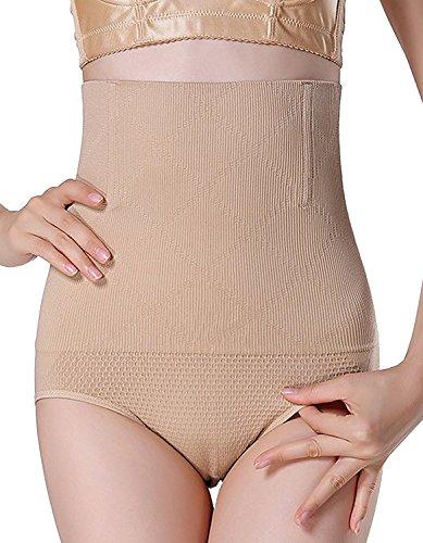 AMAGGIGO Shapewear - Braga Faja Reductora y Moldeadora Invisible para Mujer (M/L 1= S (Fits Waist 24-27 Inch), Negro-B)