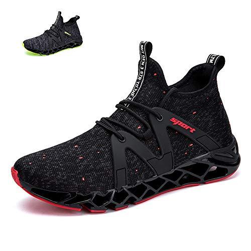 lonyoo Sportschuhe Herren männer Laufschuhe Basketball Schuhe Turnschuhe Mann Freizeitschuhe Atmungsaktiv Sneakers Mode Straßenlaufschuhe - Aus Basketball-schuhe