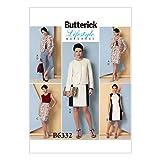 Butterick Muster Schnittmuster Jacke/Kleid/Rock und Hose, Größen 16–24