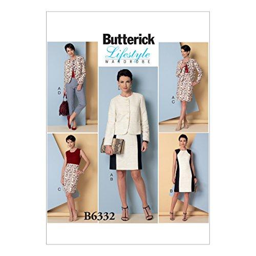 Butterick Muster Schnittmuster Jacke/Kleid/Rock und Hose, Größen 8-16 -