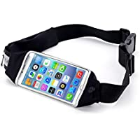 2cfee27f7f Beyle Touch Screen Cintura da Corsa per Uomo Donna, Dual Tasche Fit iPhone  x 6