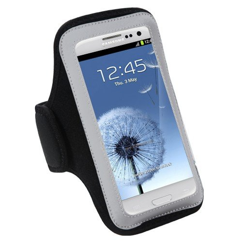 Premium Étui brassard de Sport pour iPhone 5S, iPhone 5C, iPhone, iPod Touch 5 5e génération, iPhone 4S/4 iPod Touch (4e génération)-Noir Mini stylet pour écran tactile de Smartphone