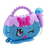 Shopkins Sing A Long Boombox Karaoke with real working Microphone - connect any MP3 device Handbag Harriet Design