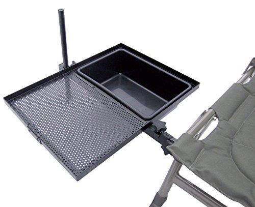 'CARP ZOOM Side Tray with Bowl' Beistelltisch Anbautisch Stützfuss Futterwanne