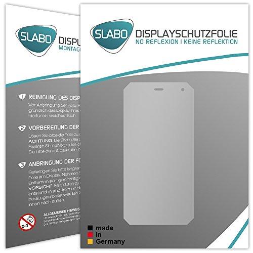 2 x Slabo Displayfolie für Cyrus CS24 Displayschutzfolie Zubehör