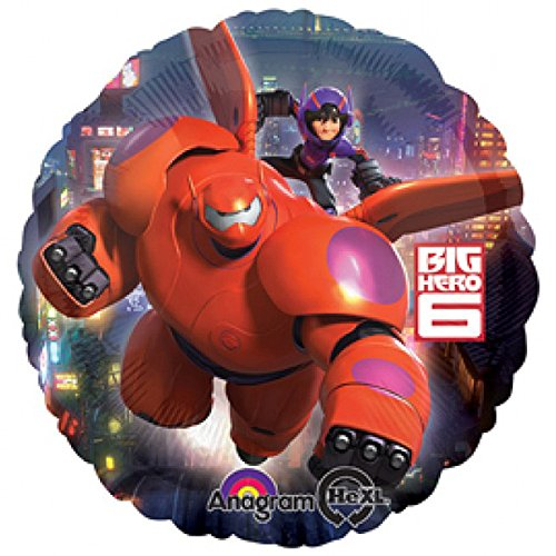 Big Hero 6 Party Folienballon - Supplies Big 6 Hero Party