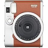Fujifilm 40597 Appareil Photo Instantané Instax Mini 90 Neo Classic Marron Clair