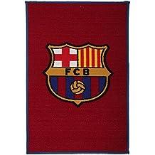 FC Barcelona Oficial de fútbol alfombra de suelo/alfombrilla, sintético, Burgundy/Blue