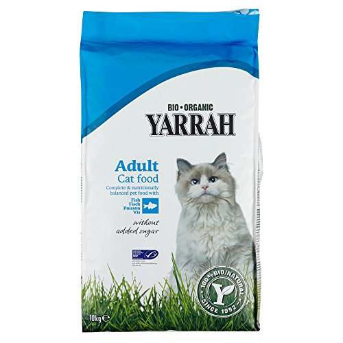 Yarrah Adult Cat Food Fisch, 10 kg