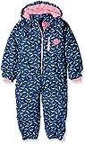 Kanz Mädchen Sportswear-Set Schneeanzug m. Abnehmbarer Kapuze 1, Gr. 86, Blau (Blue Depths 3122)