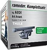 Rameder Komplettsatz, Dachträger SquareBar für Audi A4 Avant (115961-05377-19)