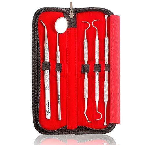 Zahnaufhellung Reinigung Zahnseide Plaque Entferner Sonde Scaler Set