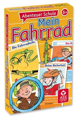 Spielkartenfabrik Altenburg GmbH (ASS) Quartett Abenteuer Schule Mein Fahrrad