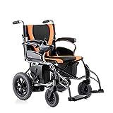 T-Rollstühle Elektrischer Rollstuhl, faltend und Leicht, vollautomatischer intelligenter, Alter Roller
