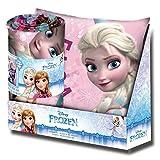 Kids Licensing–wd19149–Set Geschenk–Kissen und Kuscheldecke mit dem Bild von Frozen