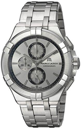 Maurice Lacroix AI1018-SS002-130-1 - Reloj de pulsera hombre, acero inoxidable, color Plata