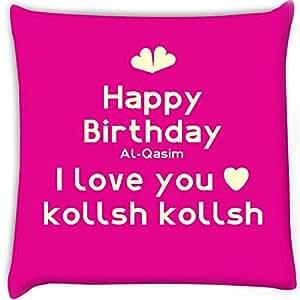 Buy Snoogg Happy Birthday Al-Qasim I Love You Kollsh Kollsh