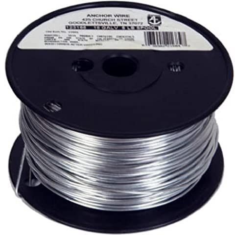 HILLMAN FASTENERS - 16-Gauge Galvanized Tie Wire, 5-Lb. Spool - Hillman Ganci