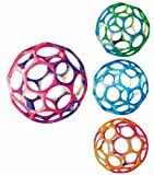 Kinzel 781005 - Oball Ø 10 cm (Farblich Sortiert) PVC-Frei!