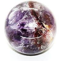 Healing Crystals India®: Natürlicher Amethyst, 60 mm, poliert, Kristallkugel Metaphysische Heilung, Feng Shui... preisvergleich bei billige-tabletten.eu