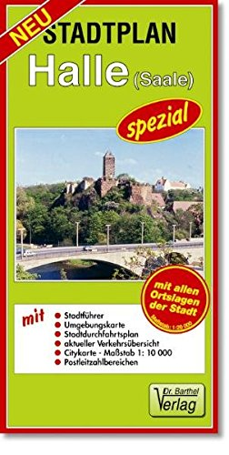 Doktor Barthel Stadtpläne spezial, Halle (Saale)