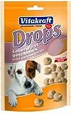 Vitakraft Snack para perro Las gotas de con Sabor de la salchicha de hígado - 200 g