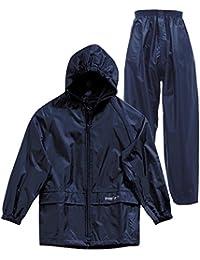 Regatta Kids Waterproof Jacket & Trousers Suit Boys Girls