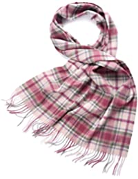 ZORJAR Pure Cashmere Scarf Wrap Stole Shawl In Plaid Design For Man Or Women (13#)