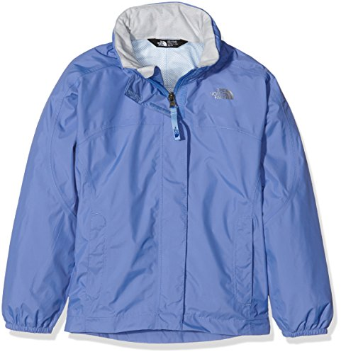 The North Face Mädchen G Resolve Reflective Jacket Jacke, Blau-Stellar Blue, XL
