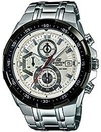 Casio Edifice Stopwatch Chronograph White Dial Men's Watch - EFR-539D-7AVUDF (EX192)