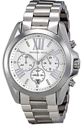 Michael Kors Damen-Armbanduhr Chronograph Quarz Edelstahl beschichtet MK5535