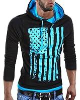 MT Styles Kapuzenpullover Pullover R-537