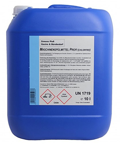 Maschinenspülmittel Profi 10L ohne Chlor für gewerbliche Spülmaschinen