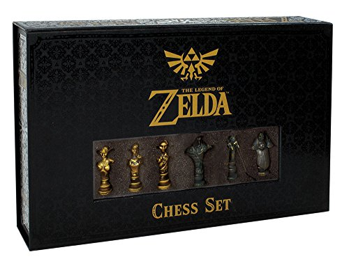 Close Up The Legend of Zelda Schach - Collector's Edition, 32 PVC Figuren mit Schachbrett 43x28cm