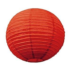 Tim & Puce 5029S - Farolillos japoneses (15 cm), Color Rojo