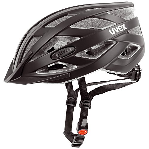 Uvex Erwachsene I-VO CC Fahrradhelm, black mat, 52-57 cm