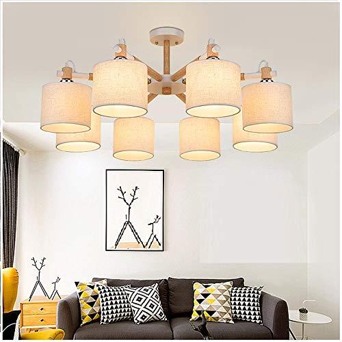 LEIKAS Moderne LED Kronleuchter Lichter Lampe Für Wohnzimmer Glanz Kronleuchter Beleuchtung Anhänger Hängen Deckenleuchten Moderne Holz Licht -