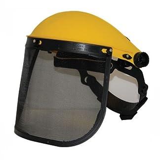 Silverline 140868 – Visor de protección con malla (Malla)
