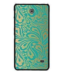 Digiarts Designer Back Case Cover for Samsung Galaxy Tab 4 (7.0 Inches) T230 T231 T235 LTE (Zig Zag Cirlce Rectangle Square)