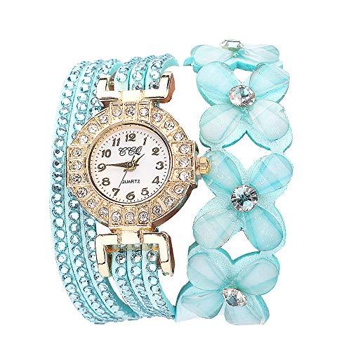 Orologi automatici usati fiori di ginevra orologi alla moda elegante quarzo braccialetto ladies diamante watch