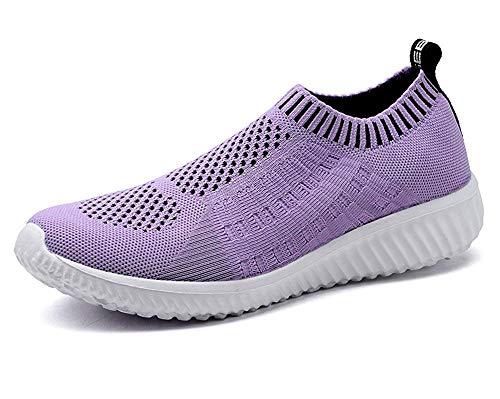 TIOSEBON , Damen Laufschuhe, Violett - 6701 Purple - Größe: 39 EU Label Size Asian 40