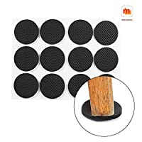 Protect all of your household floors and surfaces from scratches and marring from everyday use and movement with these furniture felt pads with carpeted bottoms for hard surfaces. Not only will these furniture felt pads protect your beautiful hardwoo...