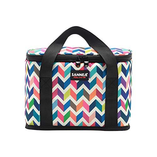 KonJin Lunchbox Tasche Lunch Bag Kühltasche Isoliert Thermotasche Lunch Bag für Erwachsene/Männer/Frauen/Kinder, für Büro/Schule/Picknick