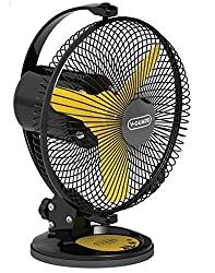 V Guard Multiutility Fan- Selfee 225mm Yellow Black