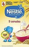 NESTLÉ Papilla 5 cereales - Alimento para Bebés -  600 g