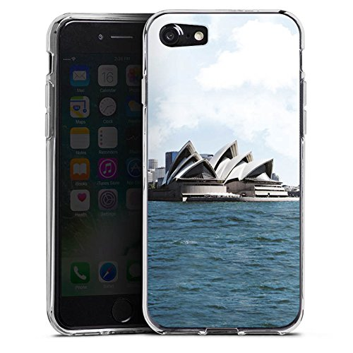Apple iPhone X Silikon Hülle Case Schutzhülle Sydney Australien Opera House Silikon Case transparent