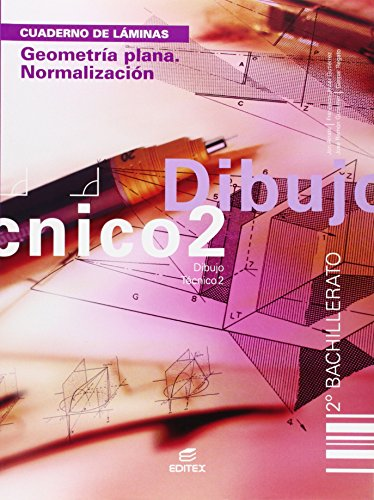 Dibujo técnico, geometría plana, normalización, 2 Bachillerato. Cuaderno de láminas por Jon . . . [et al. ] Arrate