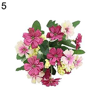 Shyymaoyi – Hermosa flor de margarita artificial, estilo rural, decoración para el hogar, oficina, boda, fiesta